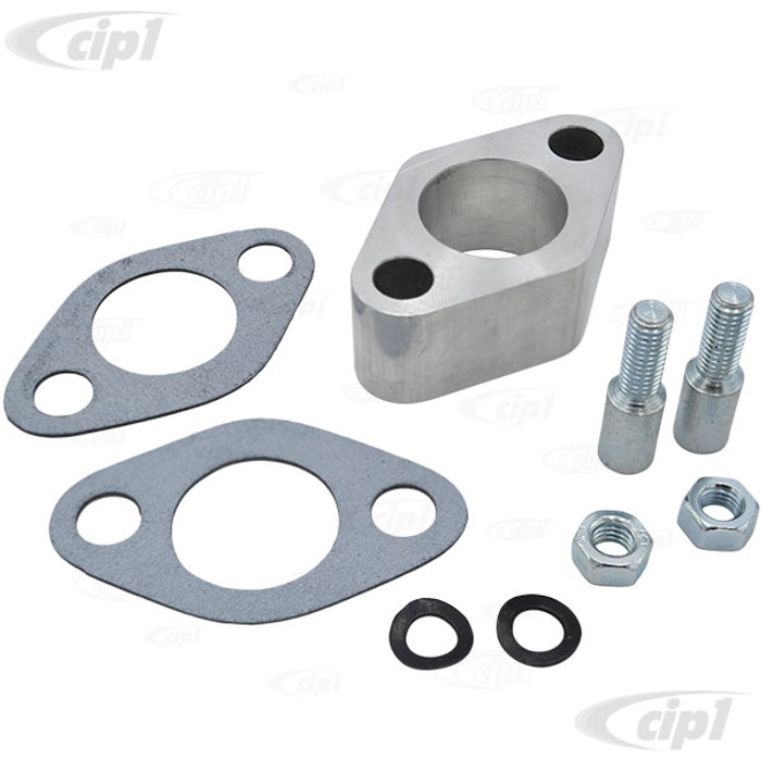 ACC-C10-5509 - (EMPI 3245) CARBURETOR SPACER KIT FOR 28-30 PICT - 25.5MM THICK (1.0 INCH) WITH STUDS - NUTS - GASKETS - SOLD EACH