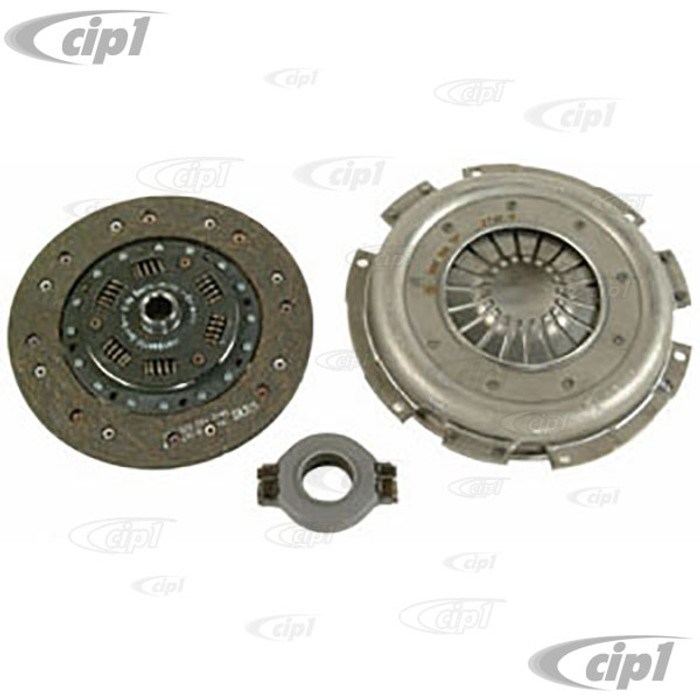 VWC-022-140-025-LKIT - (022-141-025-A 022141025A) OE QUALITY 215MM CLUTCH KIT - PRESSURE PLATE / CLUTCH DISC / THROW OUT RELEASE BRG - BUS/VAN 3/74-75 1800CC / BUS/VAN - SOLD KIT