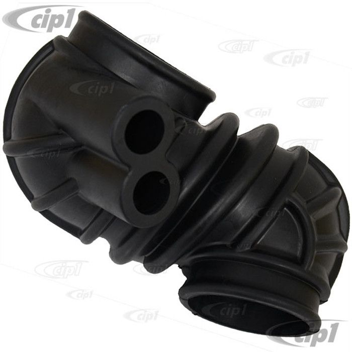 VWC-025-129-627-L - (025129627L) AIR INTAKE BOOT - AIR FLOW METER TO THROTTLE BODY - VANAGON 86-91 (EXCEPT SYNCRO) - SOLD EACH
