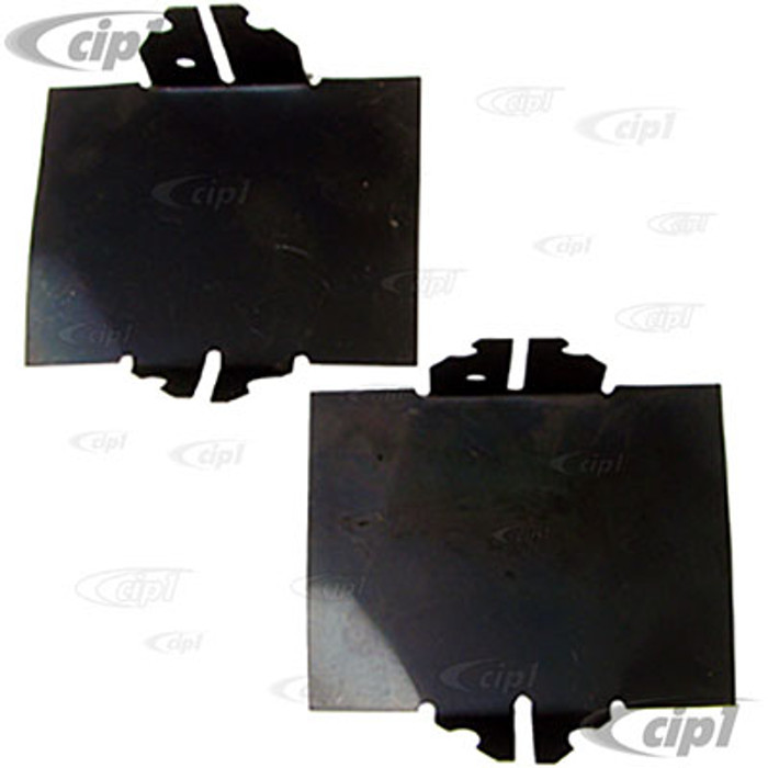 VWC-043-119-317-B2 - AIR DEFLECTOR PLATES BETWEEN PUSHRODS & CYLINDERS FOR 8MM STUDS - 13-1600CC BEETLE STYLE ENGINES 66-79 WITH 8MM CYL/HEAD STUDS - SOLD PAIR