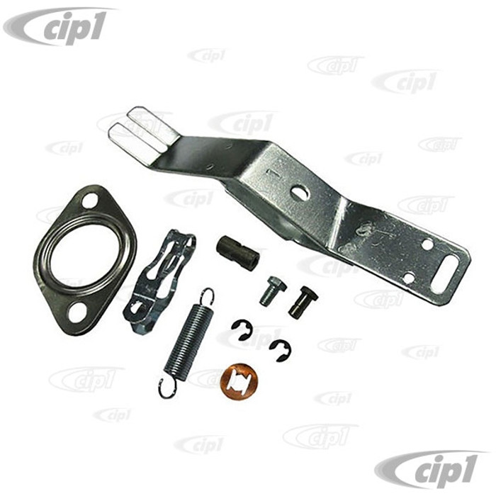 VWC-043-298-147-A - (043298147A) HEATER BOX LEVER KIT LEFT - BEETLE 63-74 / GHIA 63-74 / BUS 63-71 / THING 73-74 - SOLD EACH