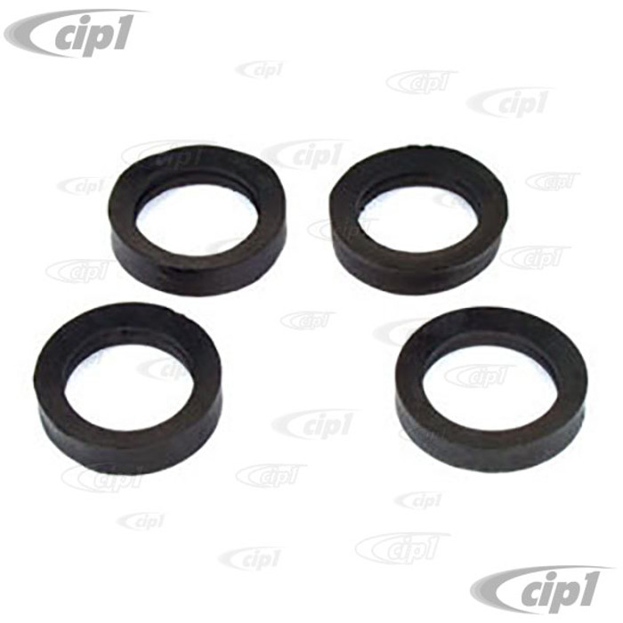 VWC-111-405-129-4 - (111405129) - TRAILING ARM SEALS  KING & LINK - BEETLE  49-65 / GHIA 56-65 - SOLD SET OF 4