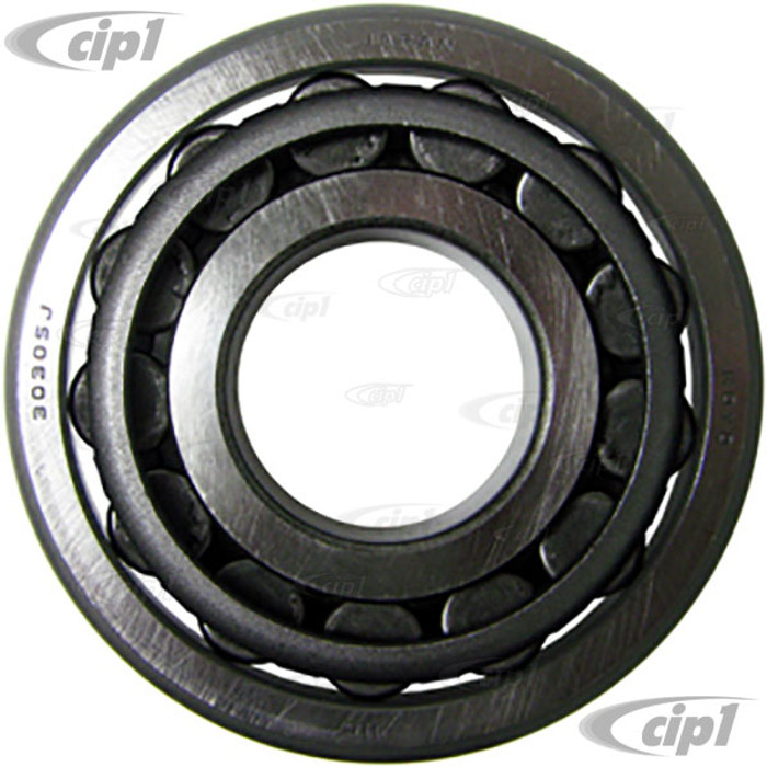 VWC-111-405-627-GR - OE QUALITY FRONT INNER WHEEL BRG ( NEW TAPERED STYLE WITH INNER & OUTER RACE ) BEETLE 49-65 / GHIA 56-65 - ALSO FITS BUS 52-63 OUTER (NOT MADE IN CHINA)