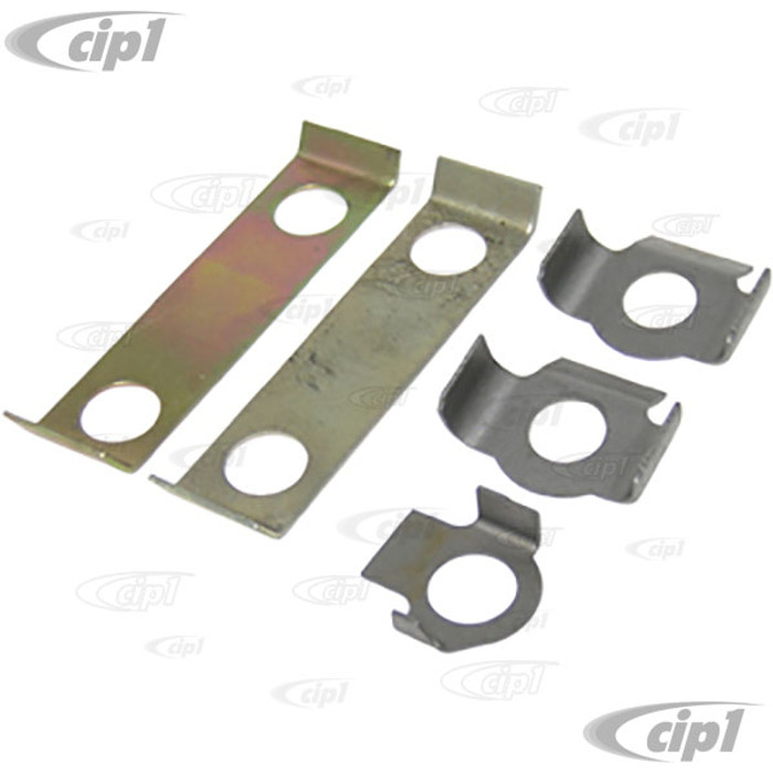 VWC-111-498-001 - FRONT BEAM LOCK PLATE KIT - 5 PIECES - BUG/GHIA 46-65 - BUS 64-67