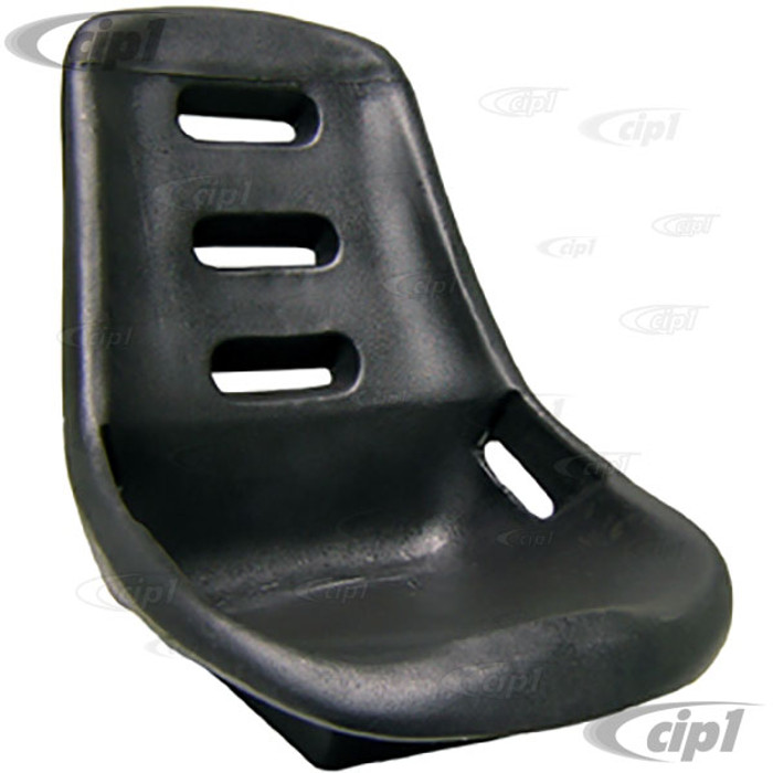 ACC-C10-2280 - EMPI 62-2400 - POLY LOW BACK BUCKET COMFORT SEAT - SOLD EACH