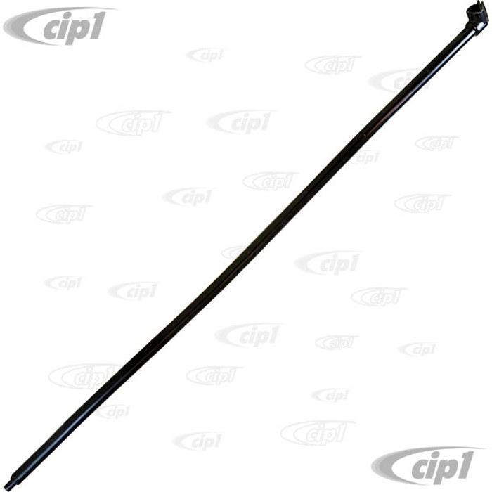 VWC-111-711-155-A - (111711155A) GOOD REPRODUCTION - SHIFT ROD - BEETLE 56-64 / GHIA 56-64 - 48 INCHES END-TO-END (WITH CORRECT FACTORY BEND) - SOLD EACH