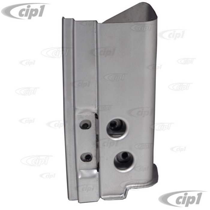VWC-111-805-351-A - (111805351A) BEST QUALITY MADE BY AUTOCRAFT IN U.K. - A-POST DOOR 4 BOLT HINGE PILLAR LOWER REPAIR SECTION - LEFT - BEETLE 46-62 - SOLD EACH