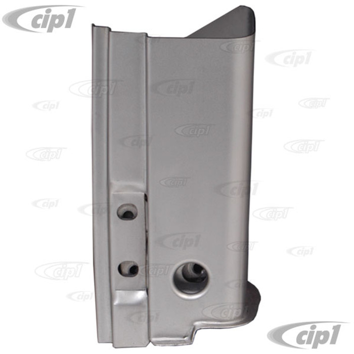 VWC-111-805-351-E - (111805351E) BEST QUALITY MADE BY AUTOCRAFT IN U.K. - A-POST DOOR 3 BOLT HINGE PILLAR LOWER REPAIR SECTION - LEFT - BEETLE 63-79 - SOLD EACH