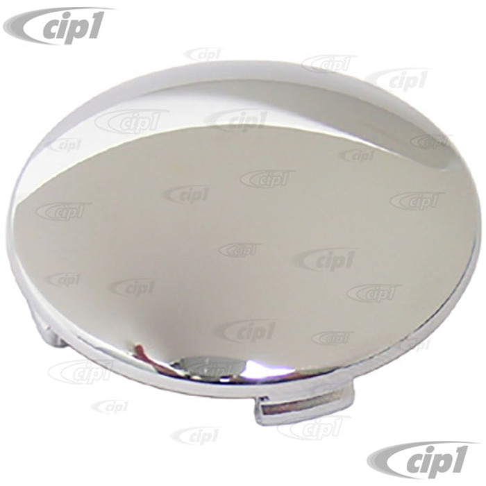 ACC-C10-6653 - 9721 REPLACEMENT CHROME CENTER CAP FOR EMPI BRAND RADER STYLE WHEEL - FITS 1-3/4 INCH OPENING - SOLD EACH