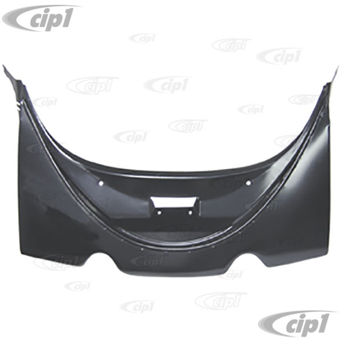 VWC-111-813-301 - (111813301) STANDARD QUALITY - REAR APRON - BEETLE 50-66 - DIRECT FIT 65-66 - WILL FIT EARLIER MODELS WITH MODIFICATIONS TO CATCH - SEE SPECIAL NOTES - SOLD EACH