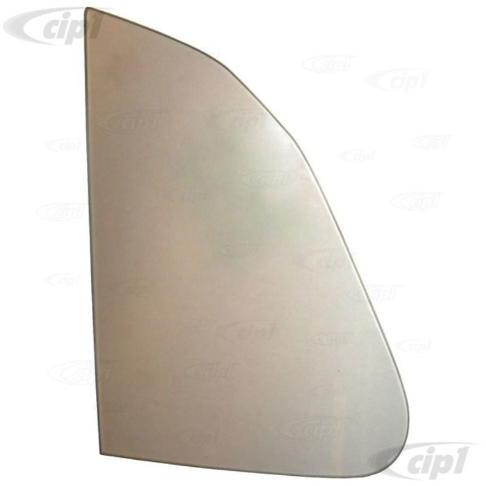 VWC-111-845-252-B - (111845252B) QUALITY REPRODUCTION - CLEAR VENT WINDOW GLASS - LEFT OR RIGHT SIDE - BEETLE SEDAN 65-77 - SOLD EACH