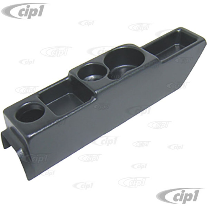 VWC-113-042-064 - (113042064) BLACK ABS CENTER CONSOLE - BEETLE 64-79 - GHIA 64-74 - TYPE-3 64-73 - SOLD EACH