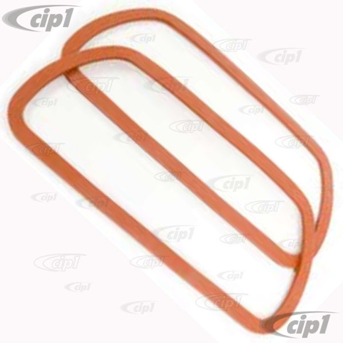 VWC-113-101-481-SPR - (113101481F) PAIR OF AEROSPACE SILICONE VALVE COVER GASKETS - ALL 40HP 12-1600CC BEETLE STYLE ENGINES / VANAGON 1.9L & 2.1L - SOLD PAIR