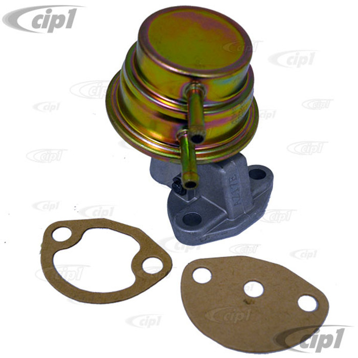 VWC-113-127-025-G - STOCK FUEL PUMP - 1600CC BEETLE STYLE ENGINES 73-74 WITH ALTERNATOR (USES 4.00 INCH PUSHROD)