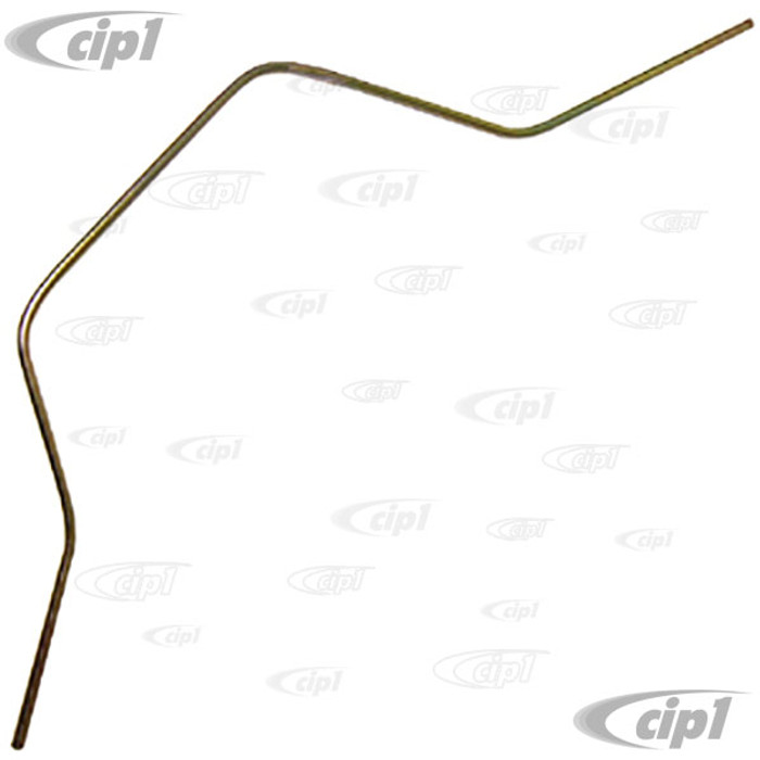 VWC-113-127-521 - STEEL FUEL LINE TO FUEL PUMP - 13-1600CC BEETLE STYLE ENGINES 66-74