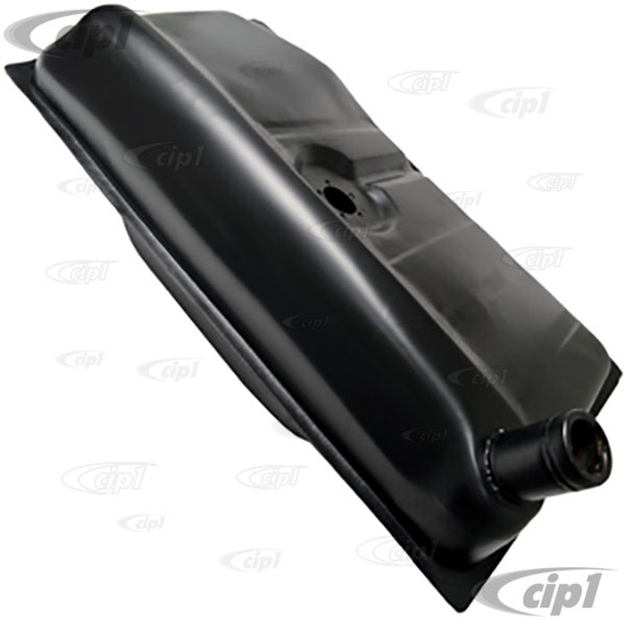 VWC-113-201-075-AB - (113201075AB) MADE IN BRAZIL - STOCK REPLACEMENT GAS / FUEL TANK - BEETLE 61-67 / GHIA 61-67 (SPECIAL GAS CAP REQUIRED - USE # ACC-C10-2508 ) - SOLD EACH