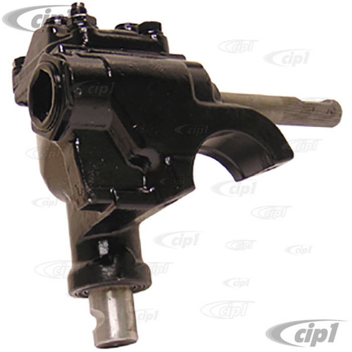VWC-113-415-061-C - CHINESE REPRODUCTION - NEW STEERING BOX STD BEETLE 50-77/GHIA 56-74/TYPE-3 62-73/THING 73-74 - (READ SPECIAL NOTES ABOUT PITMAN ARMS)