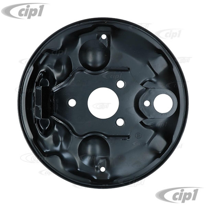 VWC-113-609-139-A - (113609139A) EXCELLENT REPRODUCTION - FRONT BRAKE BACKING PLATE - LEFT OR RIGHT - STANDARD BEETLE 58-64 - SOLD EACH