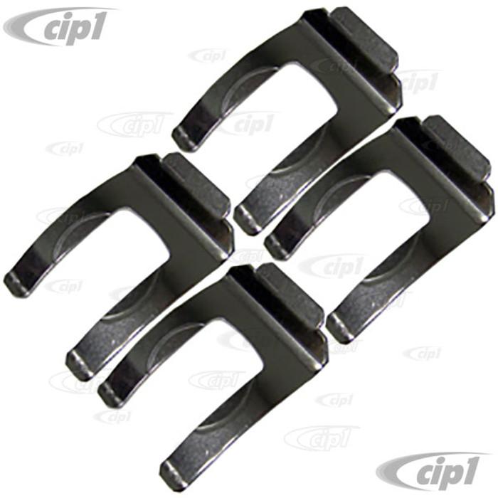 VWC-113-611-715-ASS4 - STAINLESS STEEL - BRAKE HOSE BRACKET CLIP ALL MODELS 50-79 - SOLD SET OF 4