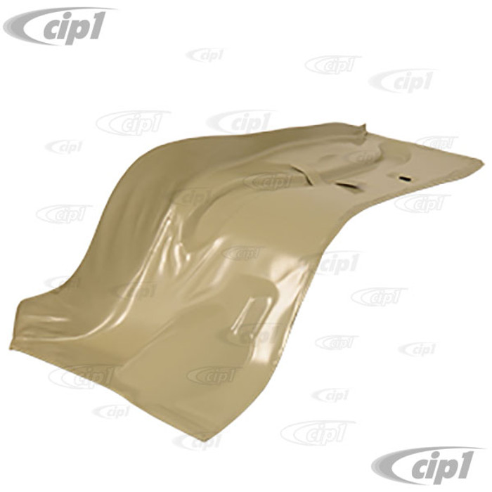 VWC-113-813-102 - (113813101 111813117B) EXCELLENT REPRODUCTION - RIGHT REAR LUGGAGE COMPARTMENT AREA REPAIR PANEL (BEHIND THE REAR SEAT) - BEETLE 56-79/GHIA 56-74 - SOLD EACH