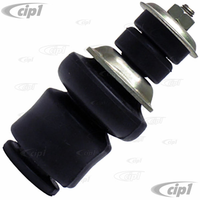 VWC-131-498-441-CP - (131498441) - DELUXE SHOCK MOUNTING KIT FOR ORIGINAL STYLE BALL-JOINT SHOCK - STANDARD BEETLE/GHIA 66-77 - SOLD EACH