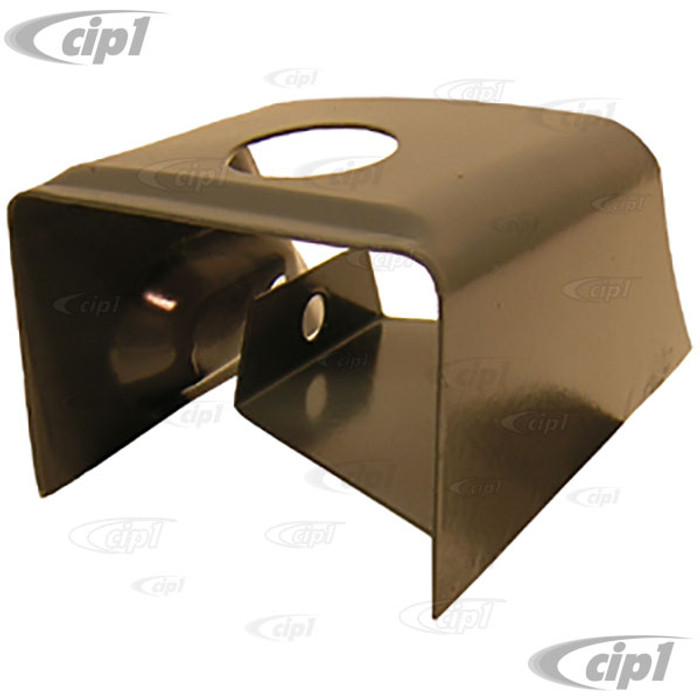 VWC-141-707-137-B -  FRONT BUMPER BRACKET COVER - LEFT - GHIA 56-71 - SOLD EACH