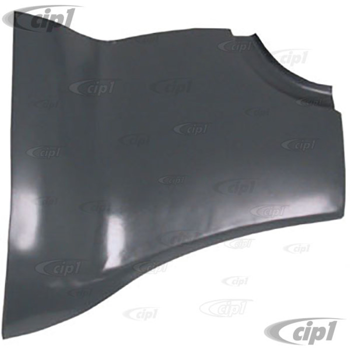 VWC-141-800-811 - REAR OUTER PANEL LEFT - FITS BETWEEN REAR APRON & FENDER - GHIA 56-74