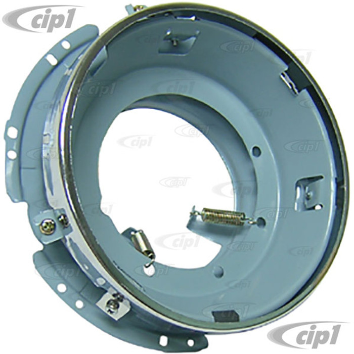 VWC-141-941-041-H - (141941041) MADE IN TAIWAN - HEADLIGHT RETAINER (SEE SPECIAL NOTES) - BEETLE 67-79 / GHIA 64-74 / BUS 68-79 / TYPE 3 64-74 / THING 73-74 - SOLD EACH