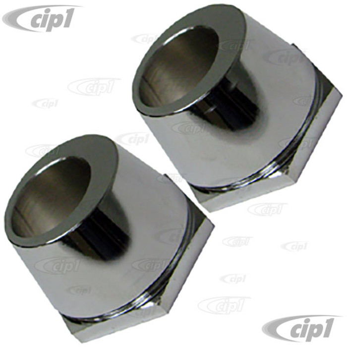 VWC-211-405-319-PR - CAMBER ADJUSTING SPACERS - LEFT AND RIGHT PAIR - BUS 68-79 - SOLD PAIR