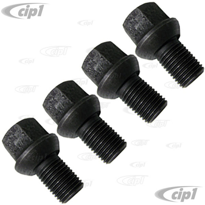 VWC-211-601-139-4 - STOCK WHEEL BOLT 14 X 1 5MM - BEETLE / GHIA 68-79 / BUS 55-70 / TYPE 3 66-74 - SOLD SET OF 4