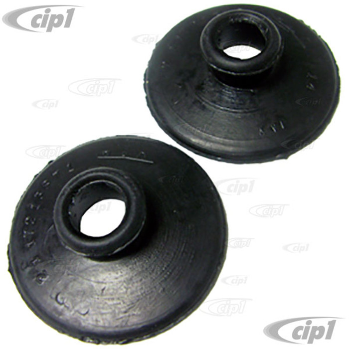 VWC-211-721-387-PR - PAIR OF SEALS FOR CLUTCH AND BRAKE PEDAL RODS/SHAFTS TO FLOOR - BUS 55-79 - SOLD PAIR