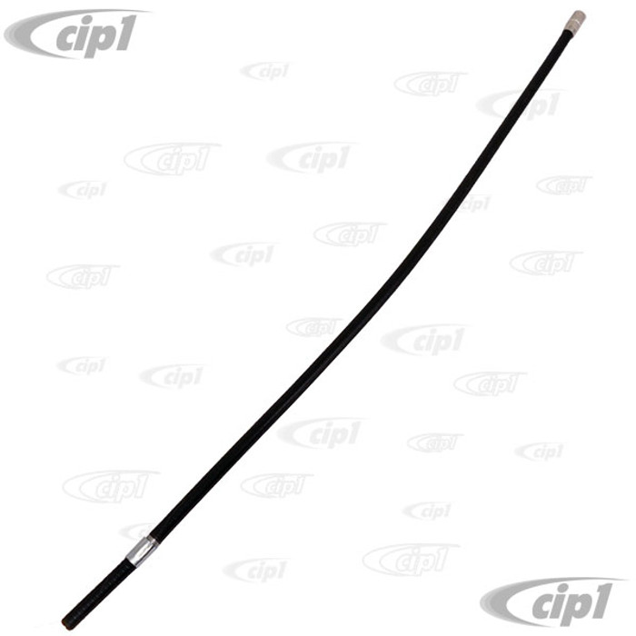 VWC-211-721-551-J - (211721551J) OE MANUFACTURE - 590MM ACCELERATOR CABLE BOWDEN GUIDE TUBE (PROTECTIVE SLEEVE FOR CABLE) - BETWEEN CHASSIS AND ENGINE - BUS 75-79 FUEL-INJECTED VERSIONS ONLY - SOLD EACH