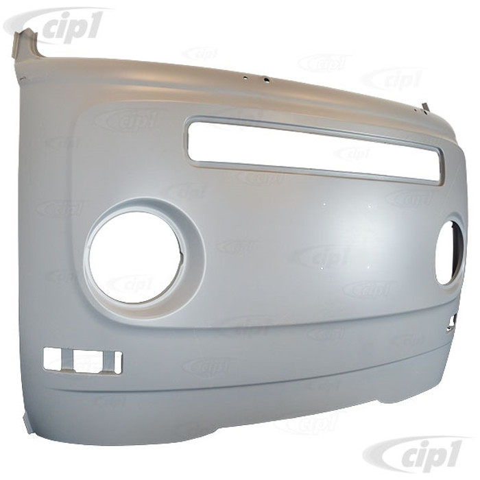 VWC-211-805-035-H - (211805035H) EXCELLENT REPRODUCTION - COMPLETE FRONT NOSE PANEL (WITHOUT HEADLIGHT BUCKETS) - VW BUS 68-72 - SOLD EACH