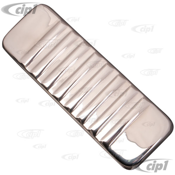 VWC-211-805-181-SS - (211805181SS) BEST QUALITY MADE BY AUTOCRAFT IN U.K. - RADIO BLANK STAINLESS STEEL POLISHED - BUS 55-66 - SOLD EACH