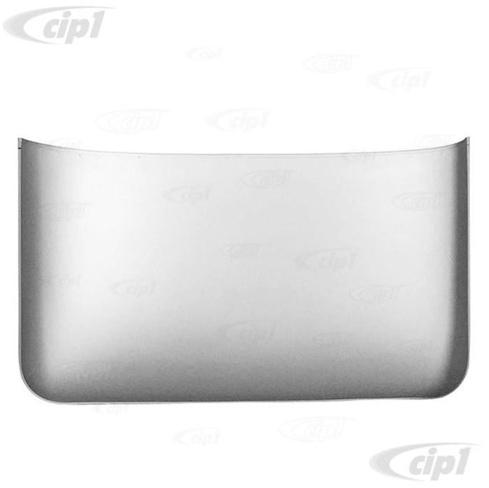 VWC-211-817-040 - (211817040) - SILVER WELD-THROUGH HIGH QUALITY METAL - REAR ROOF SKIN / PANEL - 33 LONG - BUS 55-67 - EACH
