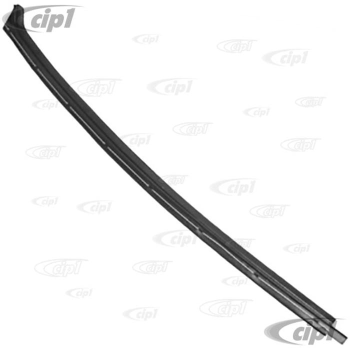 VWC-211-837-475 - (211837475) BEST QUALITY REPRODUCTION - FRONT DOOR INNER WINDOW SCRAPER – LEFT -  BUS 68-79 – TYPE-3 62-74 – SOLD EACH