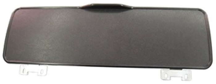 VWC-211-857-123-A - OE QUALITY - BLACK PLASTIC REPLACEMENT GLOVE BOX DOOR WITH HINGES - BUS 68-79