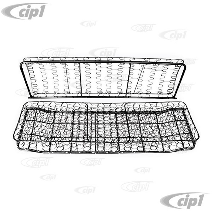 VWC-211-881-370 - (211-881-800 211881370 211881800) BARE FULL WIDTH FRONT SEAT FRAME - BUS T2 55-61 - SOLD EACH
