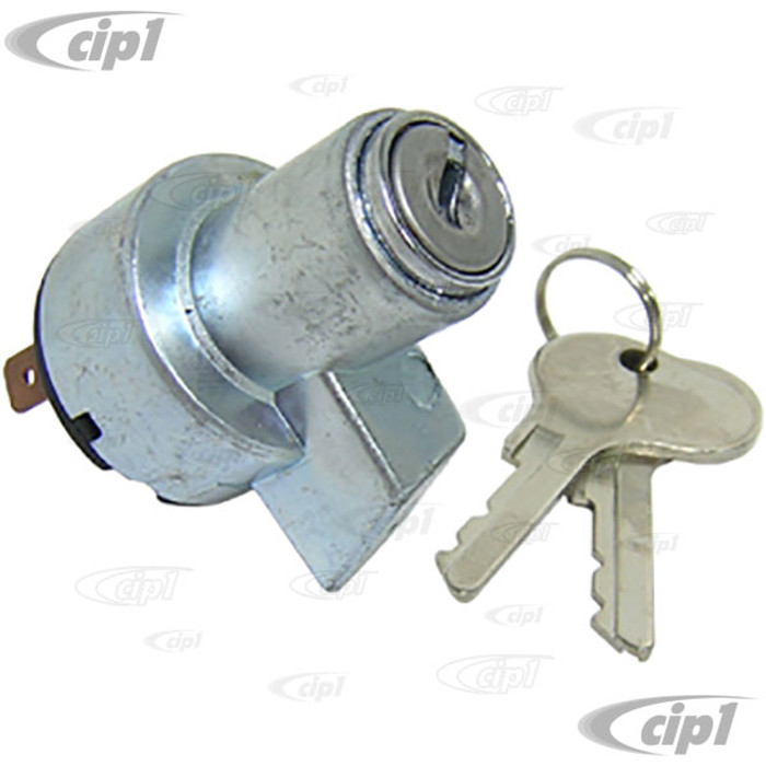VWC-211-905-811 - (211905811) QUALITY REPRODUCTION - IGNITION SWITCH W/KEYS (FROM CHASSIS # 20-117903) - BUS 55-67 - SOLD EACH