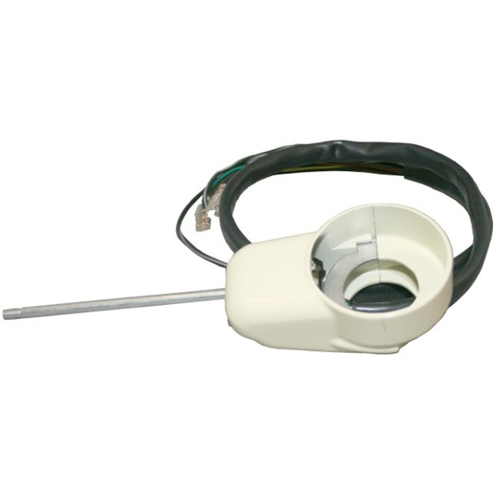 VWC-211-953-513-EIV - (211953513E) TURN SIGNAL SWITCH - 6 WIRE WITH HOUSING IVORY HOUSING - BUS 58-65 - SOLD EACH
