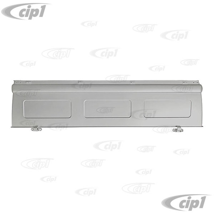 VWC-261-829-055-C - (261829055C) SILVER WELD-THROUGH PRIMER BY BBT - REAR TAIL/DROP GATE (IMAGE B ON LINE DRAWING) - BUS TYPE-2 PICK-UP OR DOUBLE CAB 52-79 - SOLD EACH