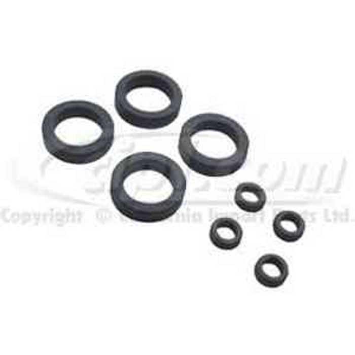 VWC-311-198-261-KIT - FUEL INJECTOR O-RING 8 PIECE KIT INNER & OUTER SEALS - BEETLE 75-79 / TYPE-3 68-73 / BUS 75-79 / VANAGON 84-92