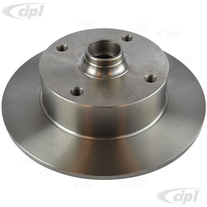 VWC-311-405-583-A - (311405583A) PREMIUM - BRAKE ROTOR (WITHOUT CENTERING RING) - STANARD BEETLE 66-77 / GHIA 66-74 / TYPE-3 66-2/71 - SOLD EACH