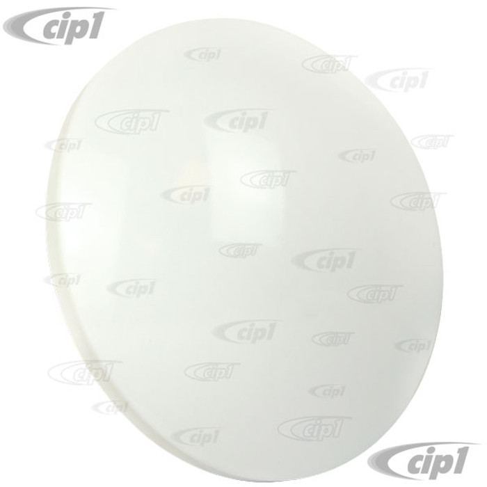 VWC-311-601-151-MNCM - (311601151) CREAM/PRIMER MOON HUBCAP (PAINT ANY COLOR YOU WANT) - ALL VW STYLE 4 BOLT STEEL WHEELS - SOLD EACH