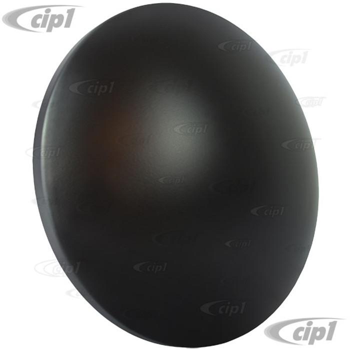 VWC-311-601-151-MNMB - (311601151) MATTE BLACK MOON HUBCAP - ALL VW STYLE 4 BOLT STEEL WHEELS - SOLD EACH