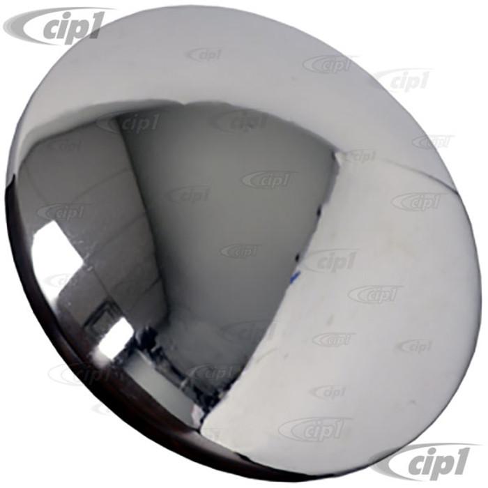 VWC-311-601-151-MOON - (311601151) CHROME MOON HUBCAP - ALL VW STYLE 4 BOLT STEEL WHEELS - SOLD EACH