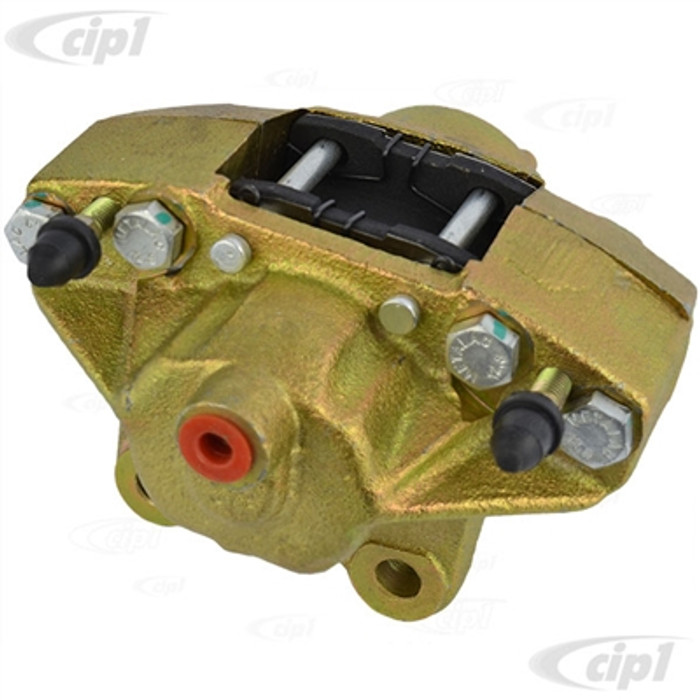 VWC-311-615-107-8EC - (3116151078EC 98-1150-B) TOP QUALITY REPRODUCTION - BRAKE CALIPER WITH PADS - FITS LEFT OR RIGHT SIDE - BEETLE 66-79 / GHIA 66-72 / TYPE-3 66-2/71 - SOLD EACH