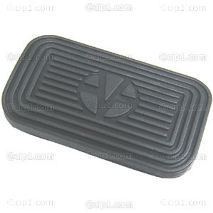 VWC-311-723-173 - BRAKE PEDAL PAD - BEETLE/T-3 AUTO 68-70 - 4-1/8 INCH x 2-3/8 INCH (106MM x 60MM) SOLD EACH