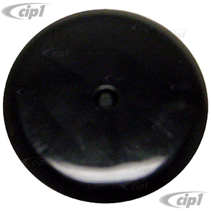 VWC-311-867-235 - (311867235) - BLACK HOLE COVER / GROMMET - INSIDE SPARE TIRE WELL SUPER BEETLE 71-79 - FITS 32.3MM HOLE - SOLD EACH