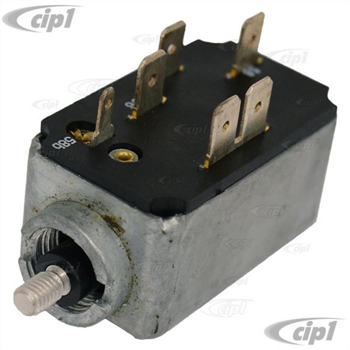 VWC-311-941-531-B - 6 PIN HEADLIGHT SWITCH - BEETLE 68-70 / GHIA 68-70 / TYPE 3 68-70 - SOLD EACH